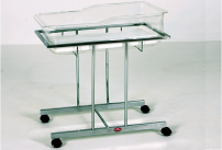 Baby Cot - Chrome Plated Model AD-252/C
