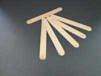 Spatule de lemn nesterile