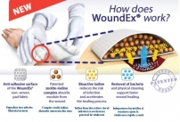 Pansament steril de tip WoundEx