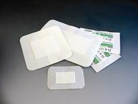 Plasture netesut, elastic, pe suport hartie tip ELASTPORE + PAD / tampon absorbant