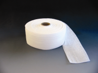 Folded Gauze Band with Cellulose Base