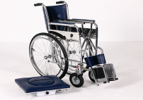 Wheelchair - with Pot, Leg Rest Stable Model AD-175/E